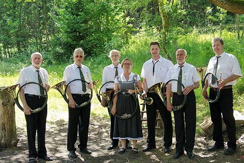 Jagdhornblasen bein Harzklub Wolfshagen