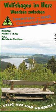 Die Wanderkarte des Harzklub Wolfshagen